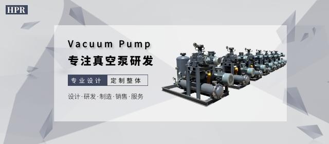 适用于化学工业的真空泵